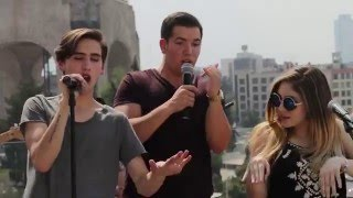"""Pablo Campos ft. JUCA, Nath Campos, LAYL & The Mexican Broadcast """"Where is the love"""" (Cover)"""