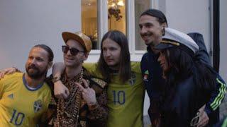 I studion med Frej Larsson - Zlatan - Joy - Max Martin - Shellback - Guedetti - Mikael Lustig