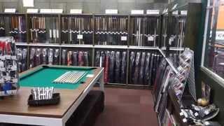 横浜『ハイランド ビリヤード』の中にあるプロショップ、『ショールーム...