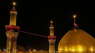 كل قطره دم بشرياني تهتف باسمك ياحسين باسم الكربلائي