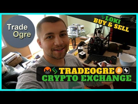 TradeOgre Cryptocurrency Exchange Review - Buying And Selling LOKI @ 10000 Satoshi