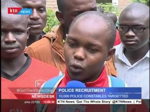 Police recruitment process kicks off across the country