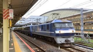 相鉄21000系21103F甲種輸送小田原駅通過