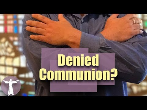Why Can't Protestants Receive Catholic Communion?