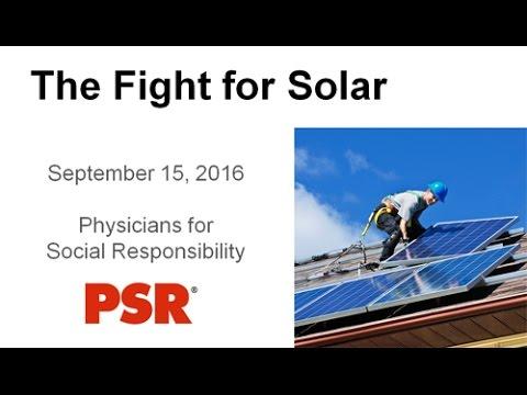 Webinar: The Fight for Solar