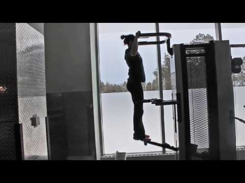 Using the Assisted Pull-up Machine