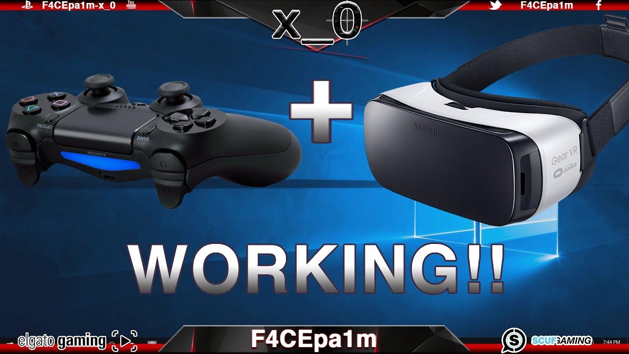 Get PS Controller With Gear VR Samsung S Working How To - Minecraft vr spielen
