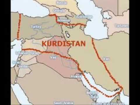 Real new kurdish map 2030 youtube real new kurdish map 2030 gumiabroncs Images