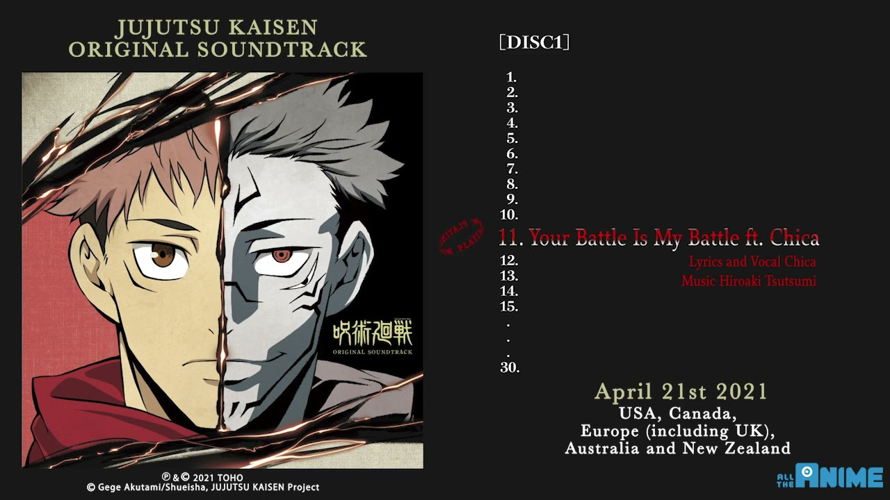 Crunchyroll Jujutsu Kaisen Soundtrack Heads To Vinyl And Cd Through Anime Limited