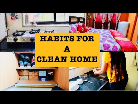 10 Everyday habits to keep your house Clean and Clutter Free in Hindi | Tips and Tricks