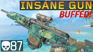 This BUFFED Gun is INSANE! 87 kills (Black Ops 4)