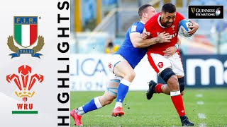 Italy v Wales HIGHLIGHTS Strong Performance Earns Bonus Point 2021 Guinness Six Nations