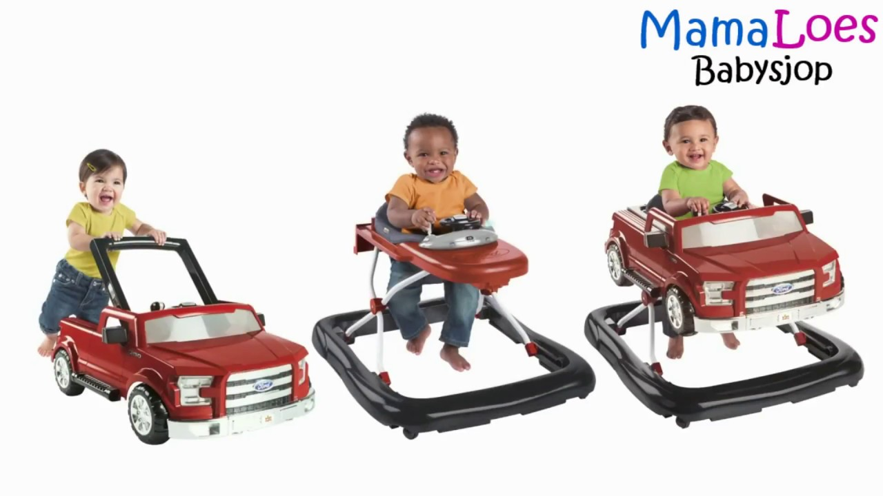 Mamaloes Babysjop Bright Starts 3 In 1 Walker Loopwagen En