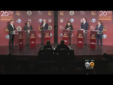 California Gubernatorial Candidates Hold Town Hall At USC
