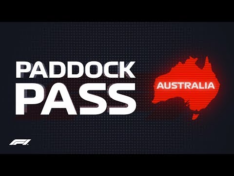 F1 Paddock Pass: Post-Race at the 2018 Australian Grand Prix