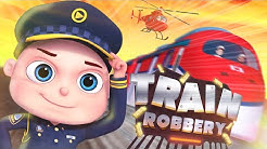 Zool Babies Series   Train Robbery Episode   Police And Thief Cartoon   Videogyan Kids Shows