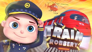Zool Babies Series | Train Robbery Episode | Police And Thief Cartoon | Videogyan Kids Shows