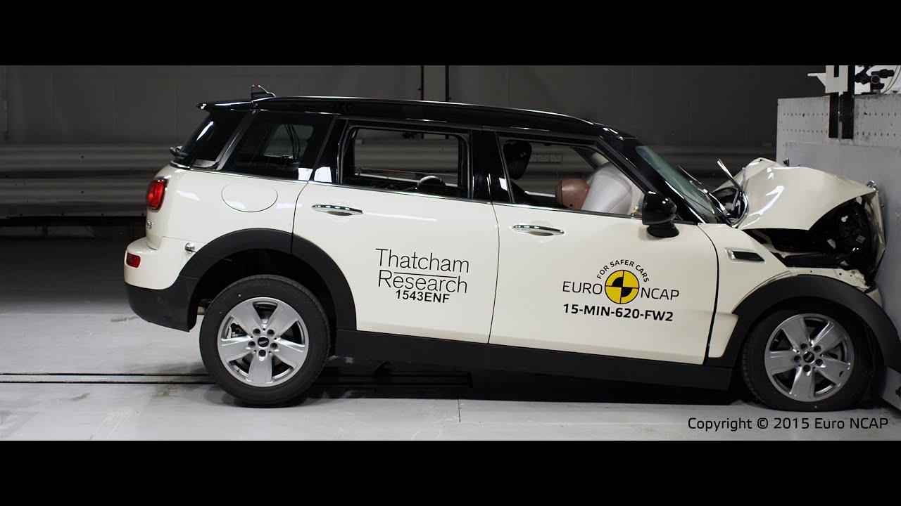 Mini Clubman Crash Test Euro Ncap Youtube