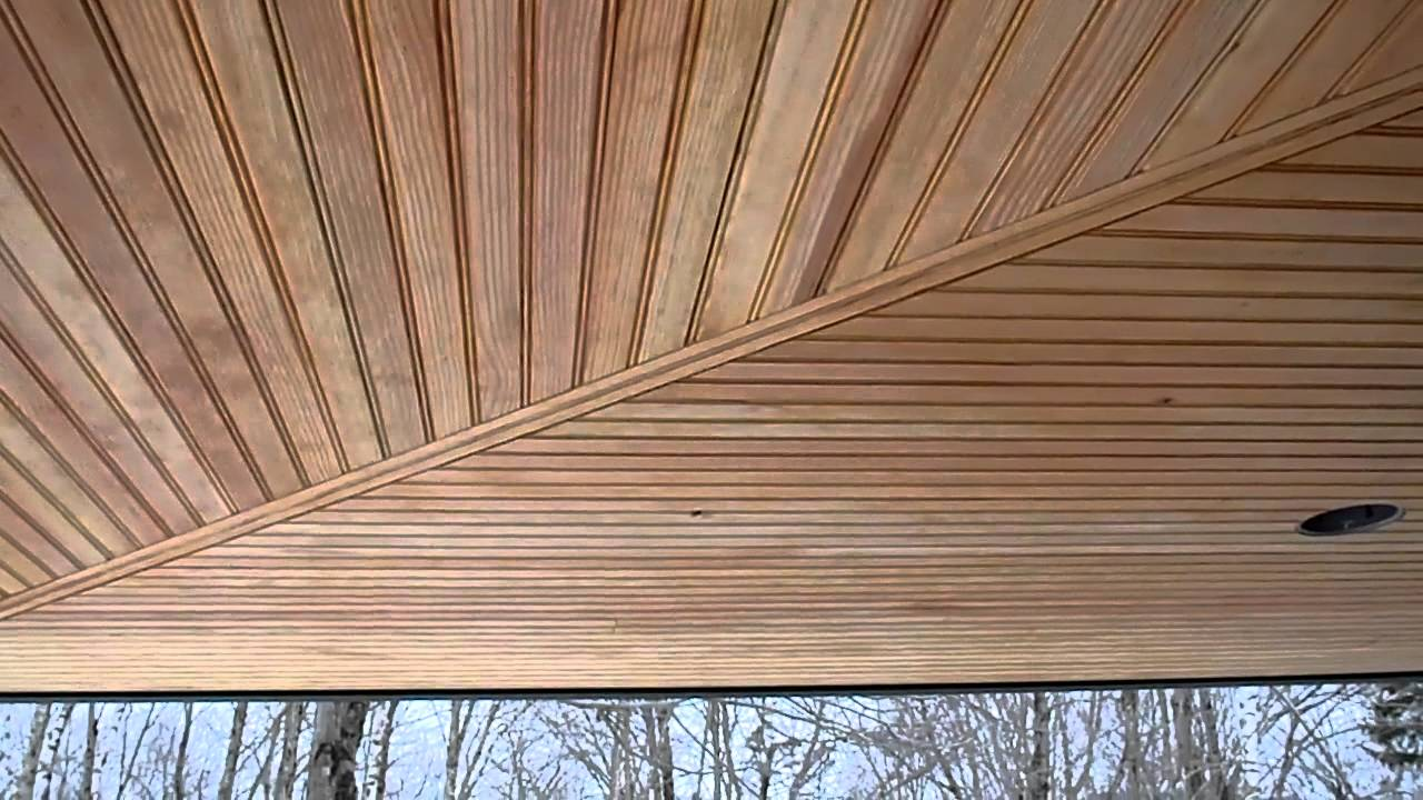 1 23 12 Porch And Soffit Youtube