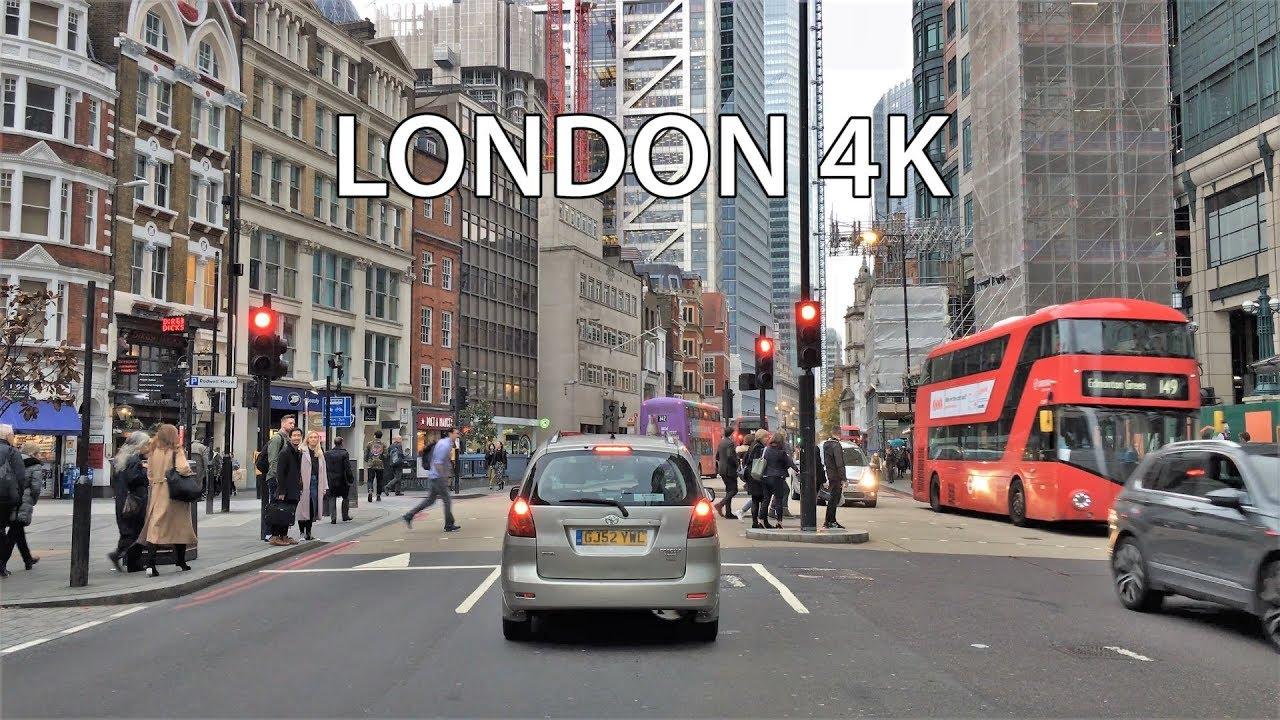 Download London 4K - Skyscraper District Drive - City of London