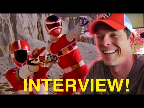 Lightspeed Rescue In Space ! Power Rangers Actors Chris & Sean!