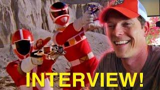 Lightspeed Rescue In Space Interview! Power Rangers Actors Chris & Sean!