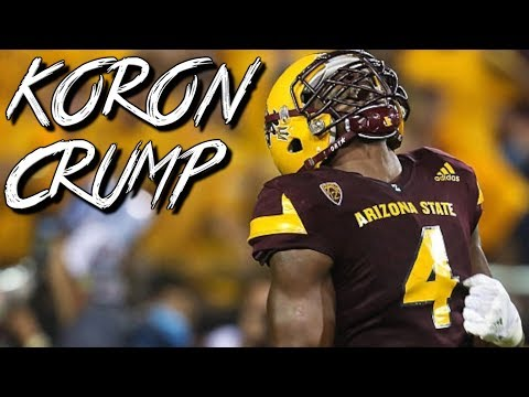 "Koron Crump || ""Fastest Linebacker in Nation"" ᴴᴰ 