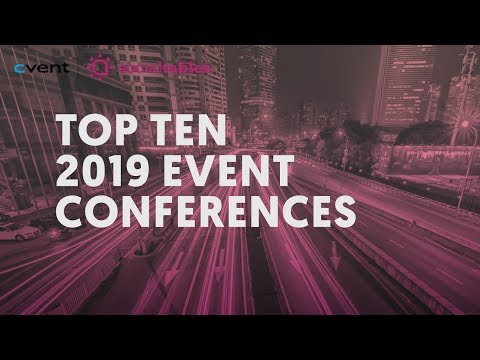 20+ Top Event Planning Conferences for 2019 & 2020