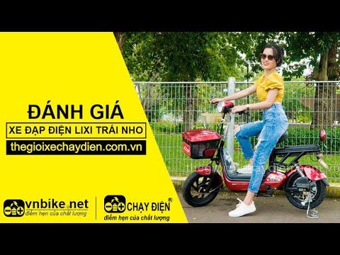 Đánh giá xe đạp điện Lixi Trái Nho