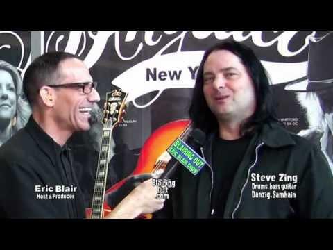 Danzig's Steve Zing talks w Eric Blair ,Danzig covers Elvis album