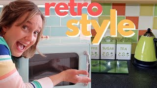 Retro Style Kitchen | New appliances in vintage style!