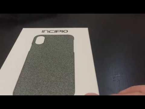 fec708a243a Incipio esquire series iPhone X thin case review - YouTube