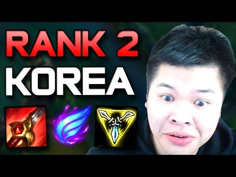 THIS GUY GOT RANK 2 CHALLENGER IN KOREA WITH THIS BUILD!?