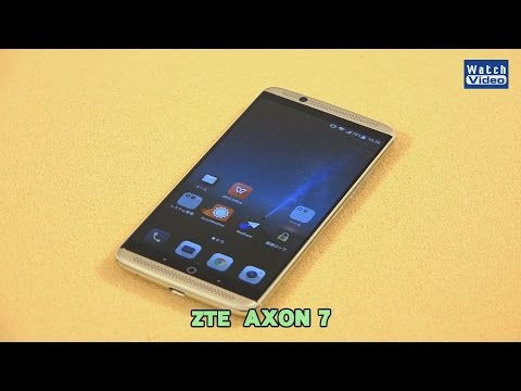法林岳之のケータイしようぜ!!   ZTE「AXON 7」