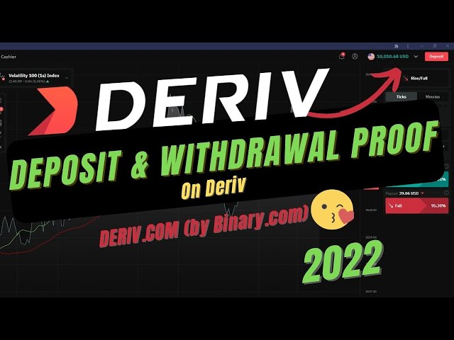 How to deposit and withdraw money from deriv platform 2020