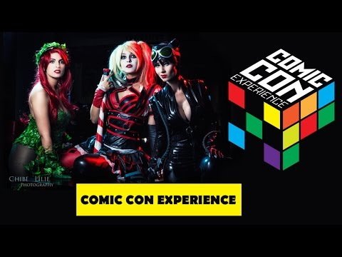 Comic Con Experience (CCXP) 2014 - COSPLAY SHOWCASE