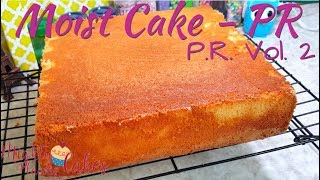 Recipe || PuertoRican Sponge Cake Soaked With Brandy Syrup Version 1// MIGHTY FLAVORS