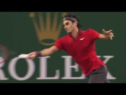 Djokovic Falls To 'Perfect' Federer In 2014 Shanghai Classic Moment