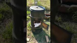 Печь под казан с функцией тандыра