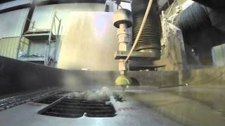 Waterjet Cutting in Slow Motion