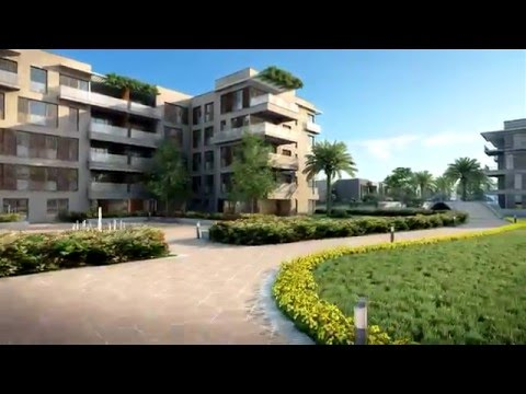 Taj City - Premium Cairo Residences - Architectural CGI fly-through