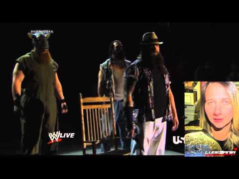 WWE Raw 3/10/14 Bray Wyatt interrupts Hulk...