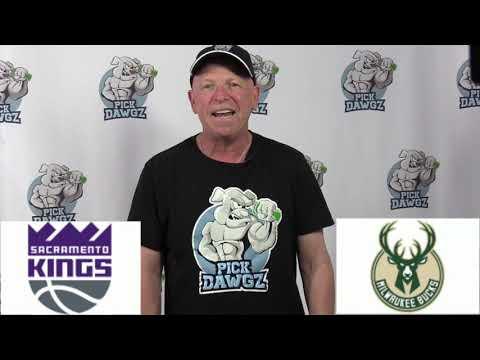 Milwaukee Bucks vs Sacramento Kings 7/25/20 Free NBA Pick and Prediction NBA Betting Tips