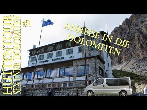 Anreise Hüttentour Sextner Dolomiten Refugio Auronzo Trekking #1 (5)