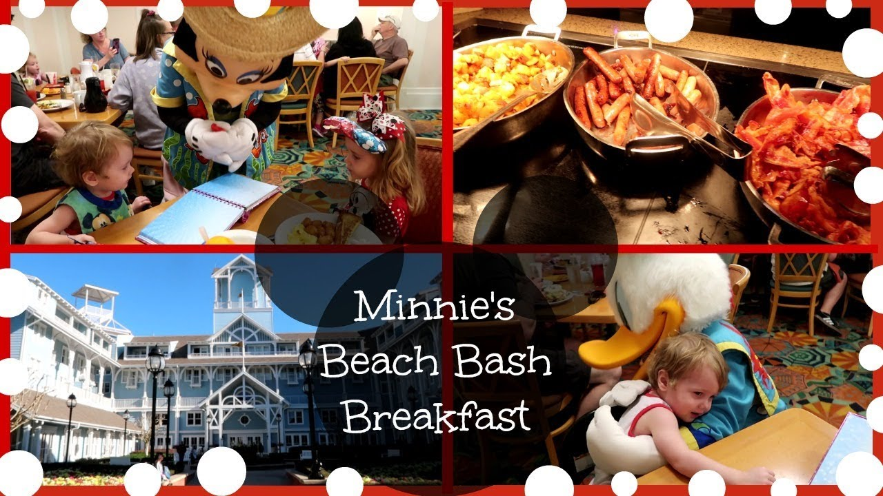 DISNEY VLOG| MINNIE'S BEACH BASH BREAKFAST| CAPE MAY CAFE ...