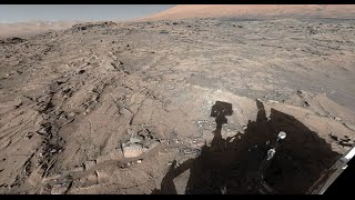 NASA's Curiosity Mars Rover at Naukluft Plateau (360 View)
