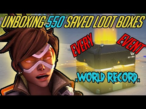 550 LOOT BOXES - ALL EVENTS/ALL EARNED *WORLD RECORD*