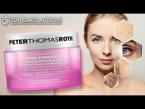 Lawsuit Claims Anti-Aging Skin Cream Is Totally Useless