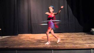 Little Eva Hulahoop dance !!!