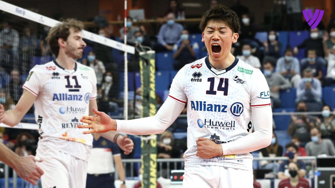 Yuki Ishikawa 石川祐希 was on FIRE vs. Volley Monza!🔥 | Highlights Men's SuperLega 🇮🇹